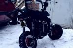 Suzuki pv projekti! (82cc Yamaha yz engine)