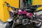 Linttarenkaat ja YX 150cc motti kiinni