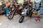 Yamaha WR ja Aprilia