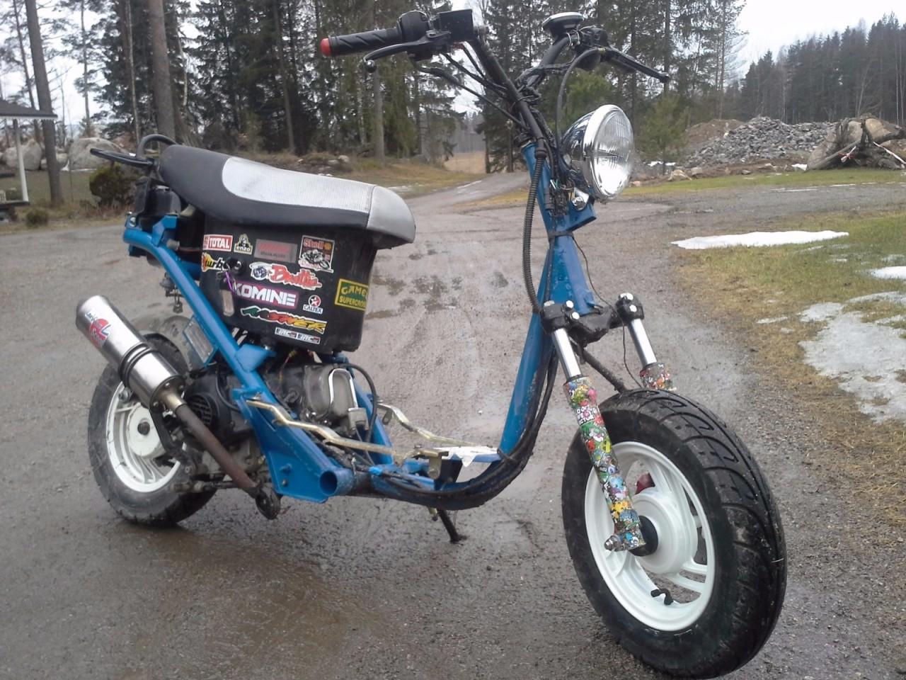 Kuva: Fude 80 Tuning GY6 Scooter (Fude Sport 50)
