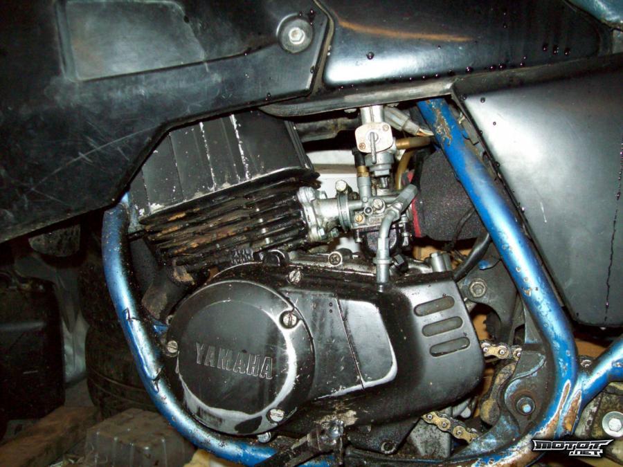 Yamaha dt tulppa