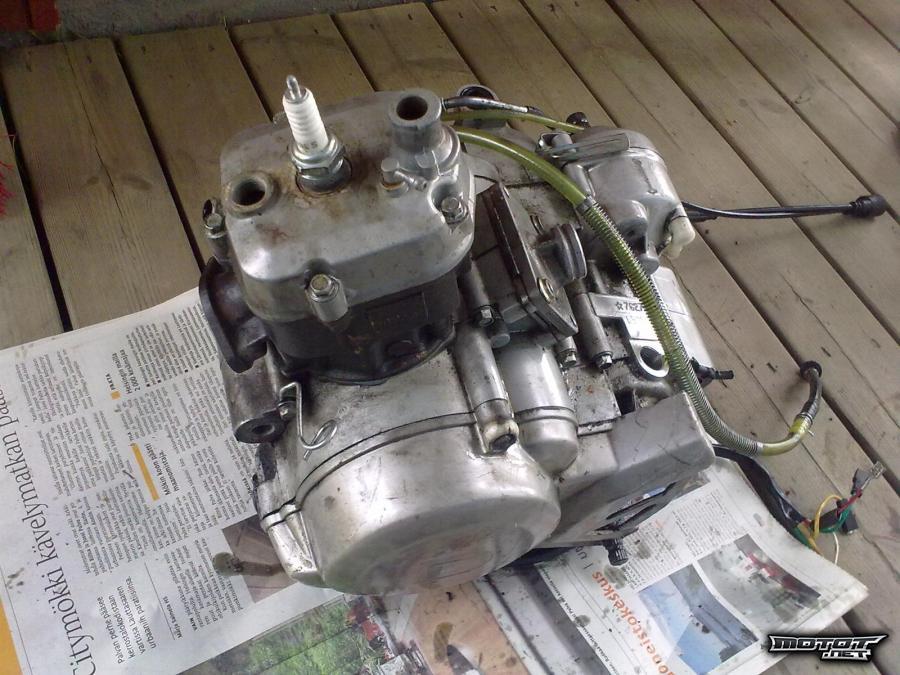 Derbin moottori myydään