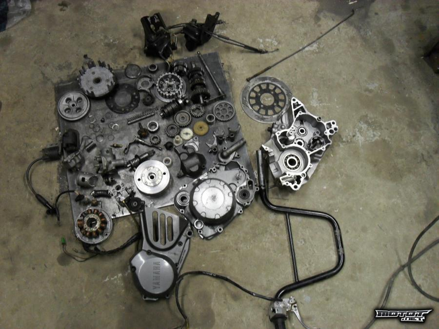 Yamaha moottoripyörät varaosat
