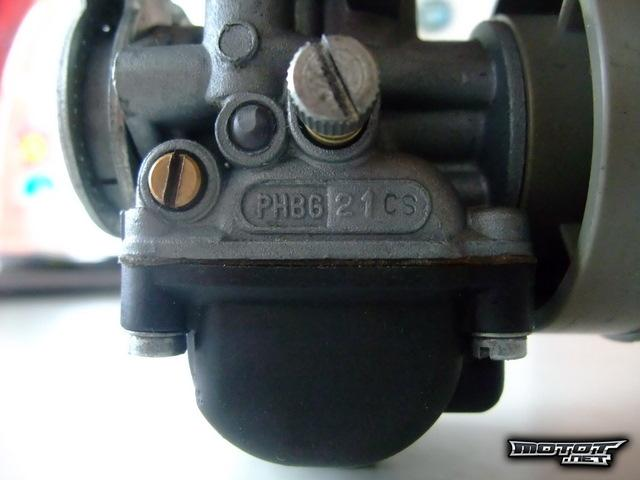 Dellorto PHBG 21mm kaasari ja imukaula AM6