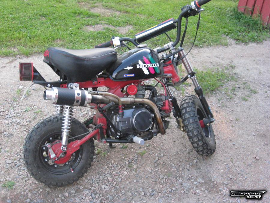 Honda Monkey osina
