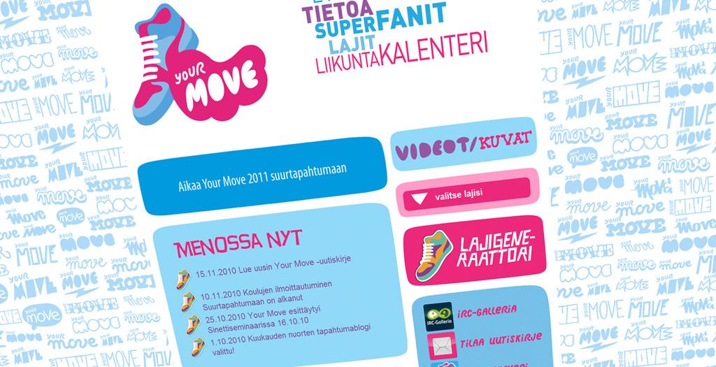 Your Move liikuntakampanja